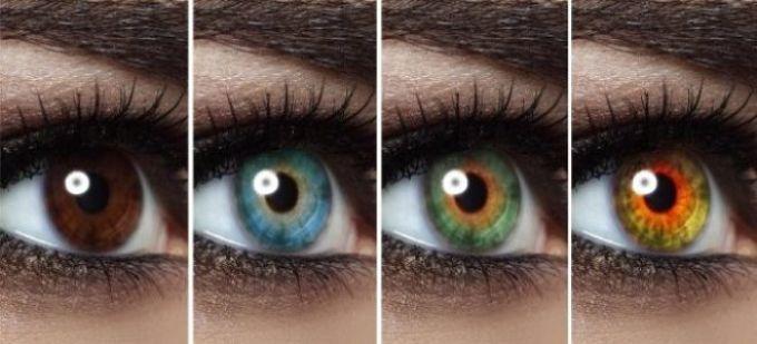 Карий или зеленый