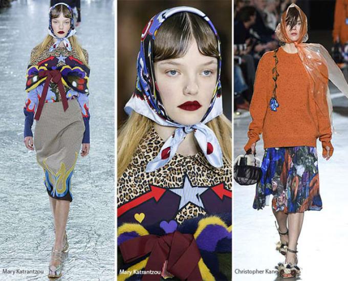 a-lya-babu-lya Как красиво завязать на голову шарф разными способами? Как красиво и стильно завязать шарф на голове летом, с пальто, мусульманке?
