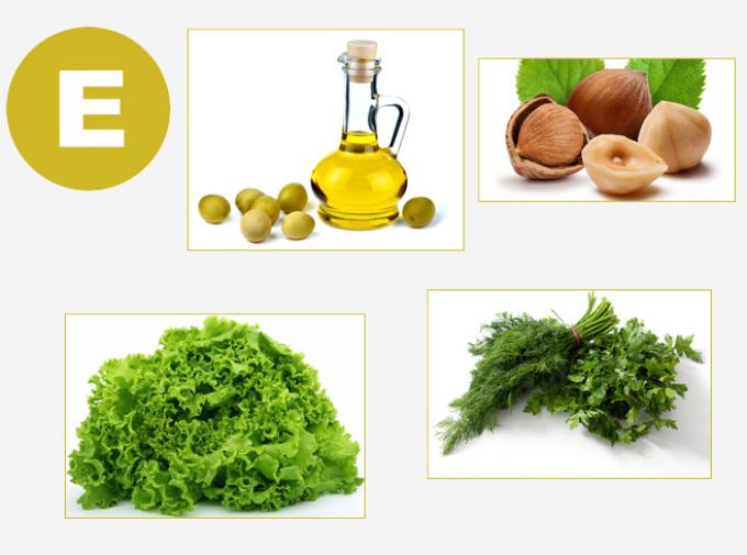 Натуральные источники витамина е