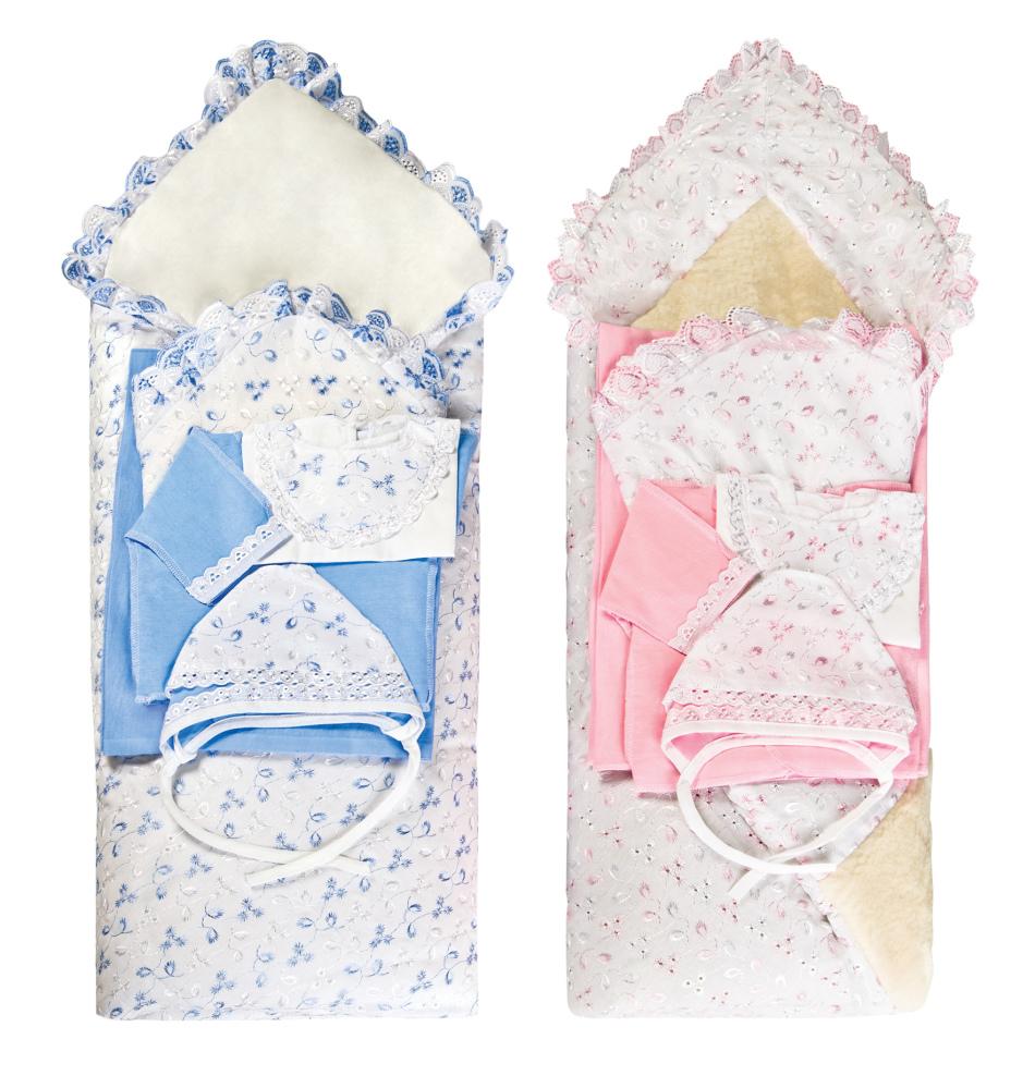 komplekti-dlya-vipiski-letom Как сшить зимний утепленный конверт для новорожденного