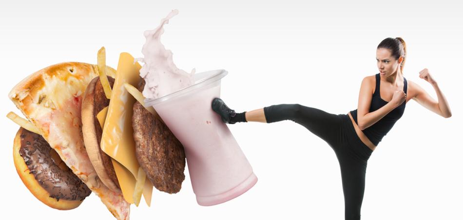 Отказываемся от вредной пищи