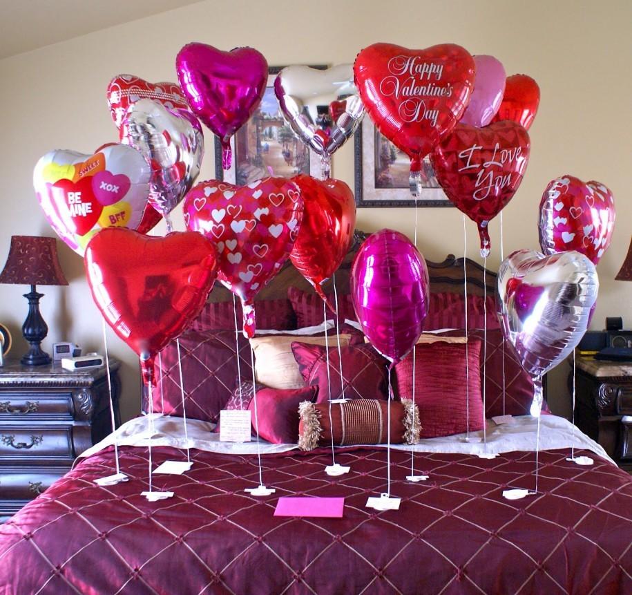 Как украсить комнату на день рождения своими руками для мужа фото 247