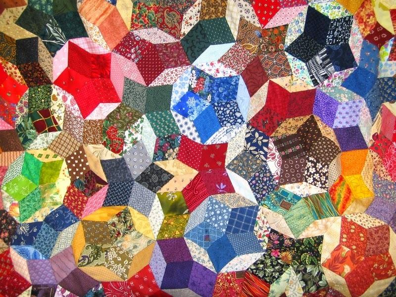 34f9d650743c96bc89978b53ff1a7d93 Мастер-класс: Шьем лоскутное одеяло в стиле пэчворк