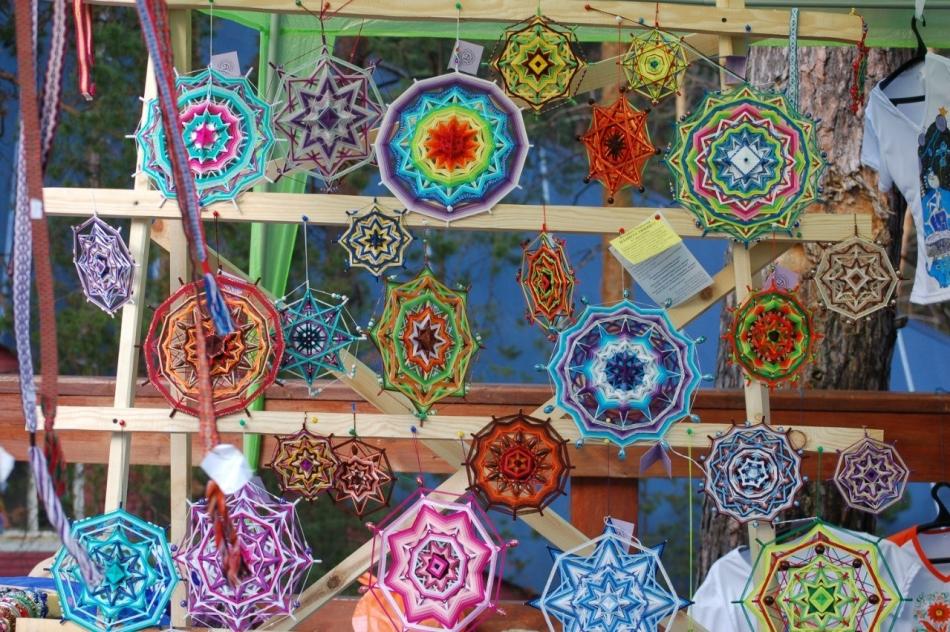 357e6d6babc60dbf97263510e15e6393 Мандала своими руками из ниток с желаниями, денежная, любви, для детей. Плетение мандалы для начинающих: схемы, значение