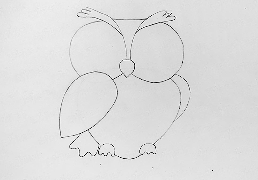 risuem-lapi-s-kogtyami Как рисовать сову карандашом поэтапно для начинающих и детей? Как рисовать по клеточкам сову, красками?