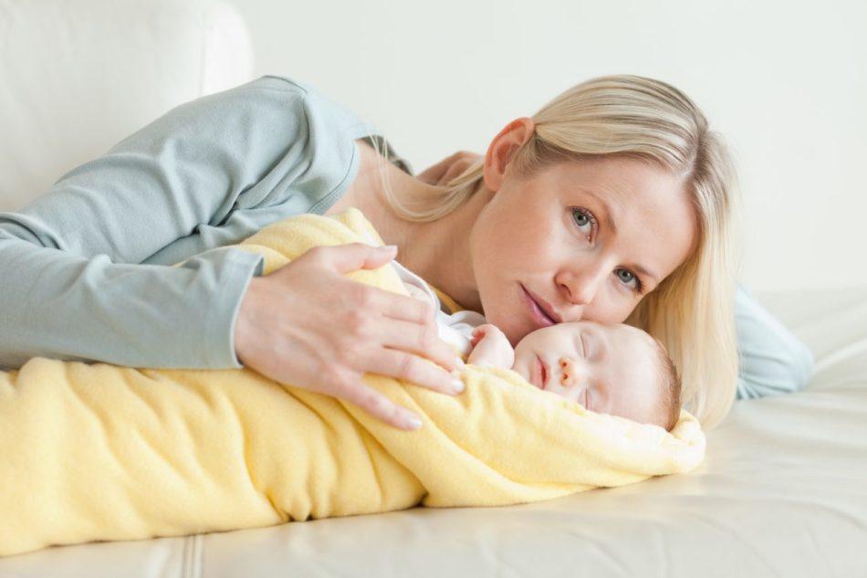 Достаточно много минусов поздних родов