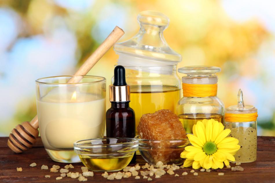 Масло касторовое и мед - уникальная косметика для рук