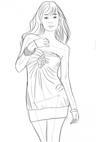 tulovishe-zhenshini-karandashom Как рисовать ноги человека? Подробно рассмотрим строение и технику рисования