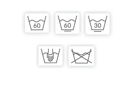 Условные обозначения для стирки на ярлыках