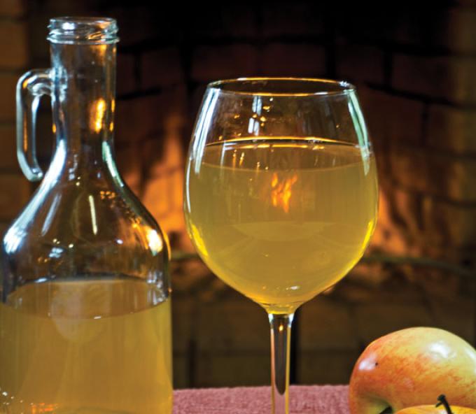 Вино из диких яблок