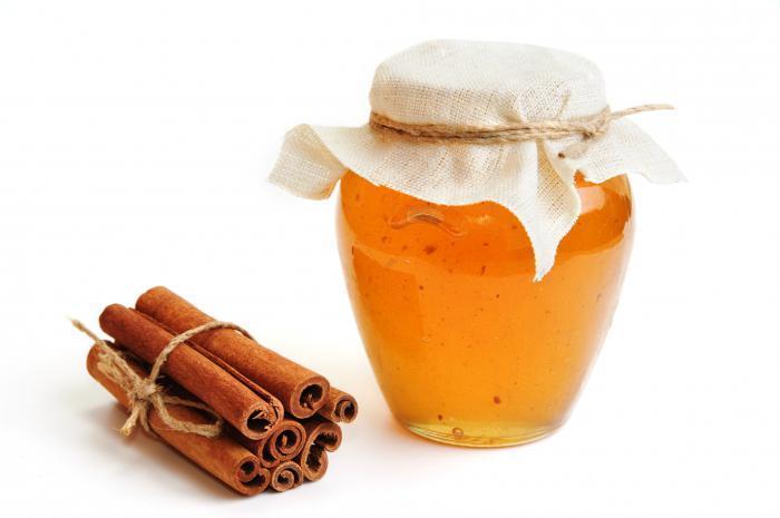 Мед и корица - продукты для эффективной борьбы с жировыми клетками