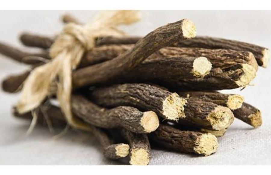 Лекарственное сырье: корень солодки