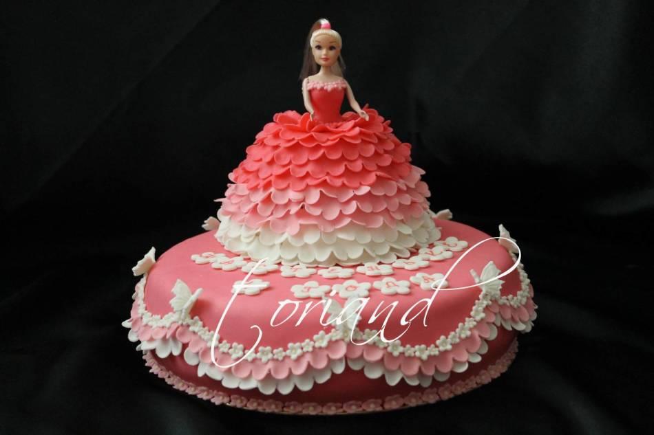 Детский торт кукла своими руками 961
