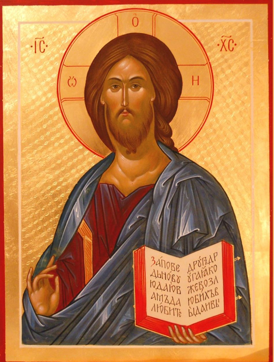 Икона господа воздержителя иисуса христа