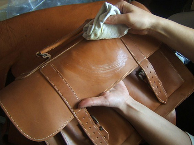 Чистка сумки