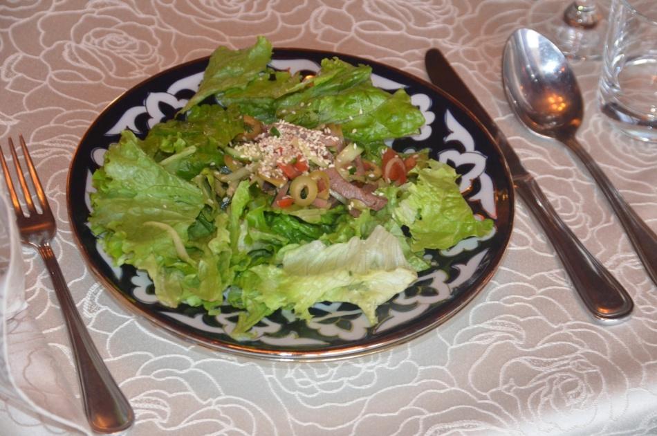 Закуска с салатом айс