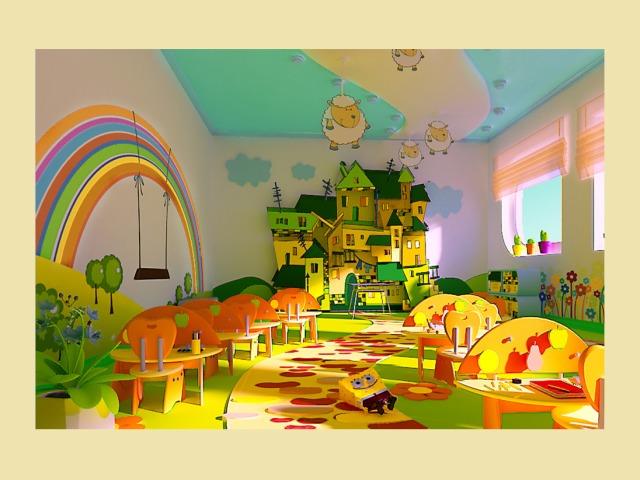 Интерьер детского сада своими руками фото 705