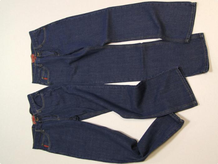 dzhinsi Яркий рюкзак из старых джинсов