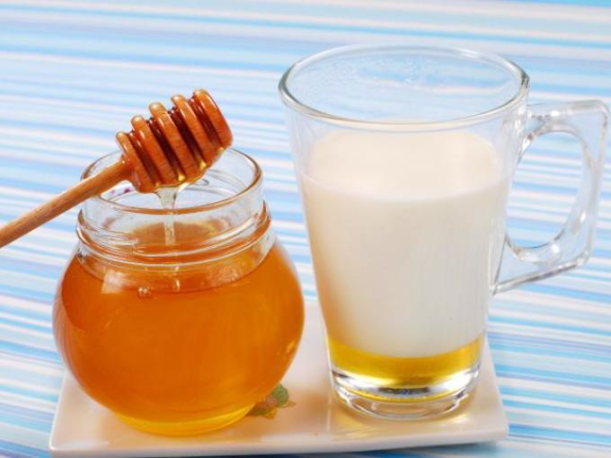 Кефир с медом для волос