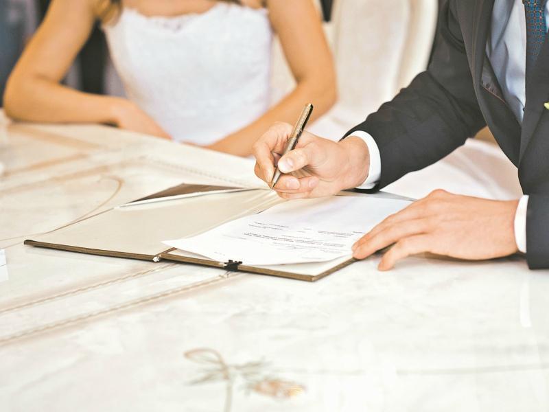 Формы брачного договора
