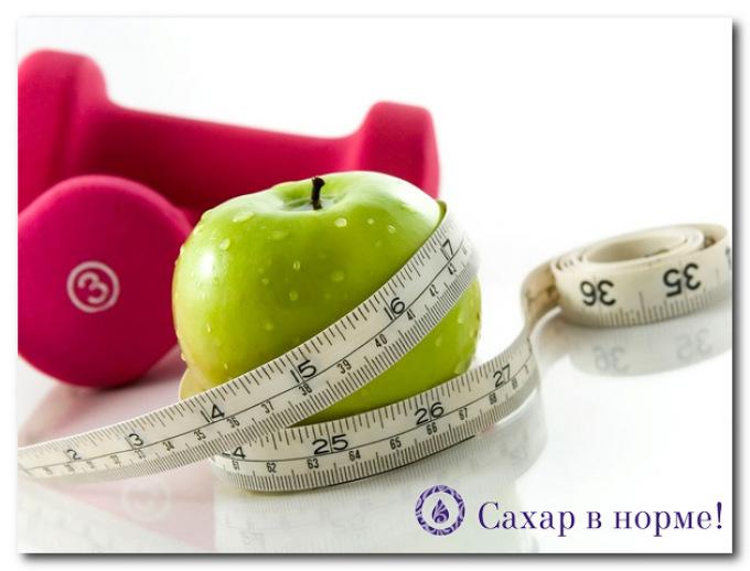Правильное питание и физические нагрузки при сахарном диабете беременных