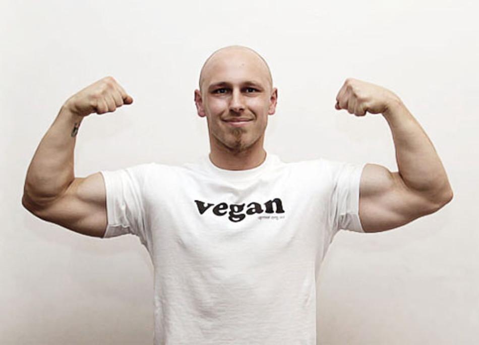 Спортсмен-вегетарианец