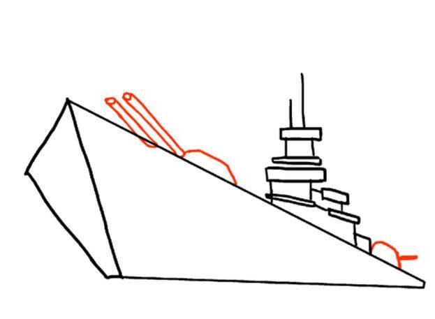 3edcf934c9817b9627fb279572af5cd6 Как нарисовать праздничный Парад военных кораблей на Параде Победы? Как нарисовать военный корабль карандашом и красками для ребенка поэтапно?    Класс Рисуем корабль в рукодельной энциклопедии Pro100hobbi