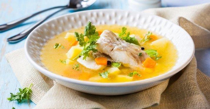 Суп из трески лечебный