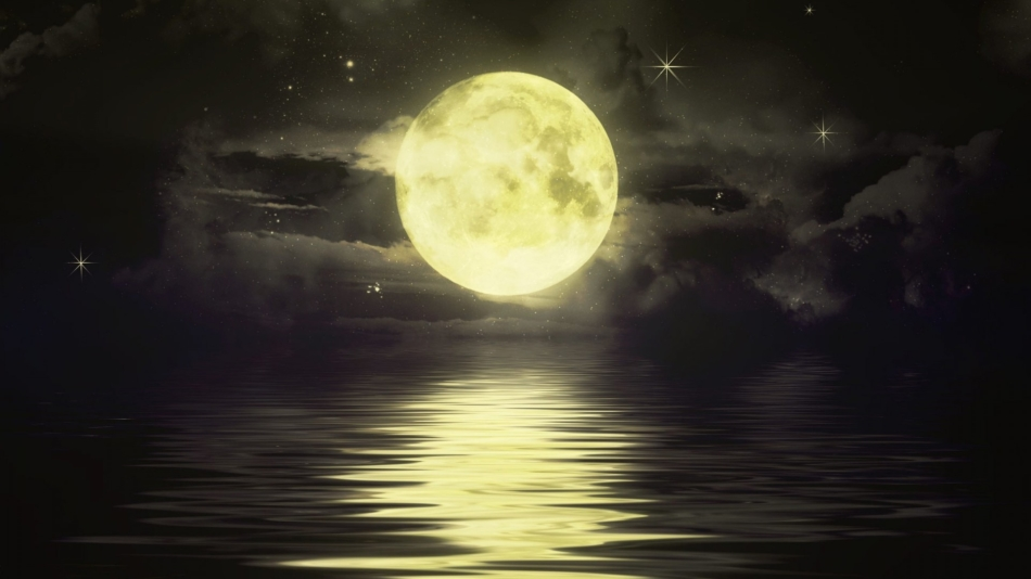 Влияние луны на природу