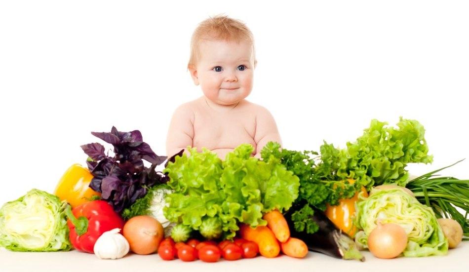 Источники белков: зелень и овощи