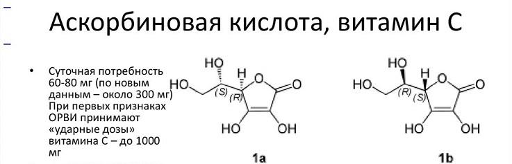 Прием витамина c при первых симптомах простуды