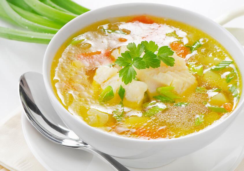 410e760002cbb27c8d945fb9257e7c57 Рыбный суп: вкусные рецепты из хека, семги, скумбрии, форели, сайры. Рецепт вкусного рыбного супа с томатами, пшеном, сливками, плавленным сыром