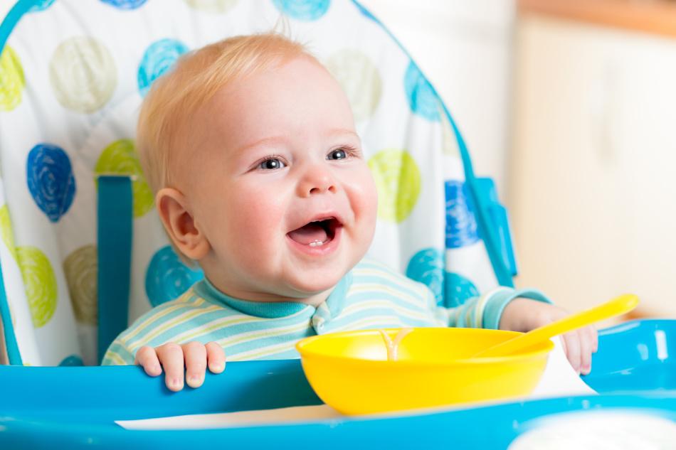 Каша для ребенка в 8 месяцев