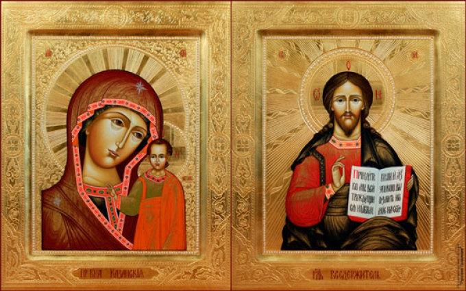 Какую икону дарят молодоженам на свадьбу?