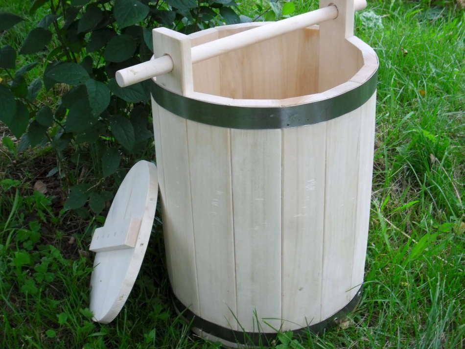 Соления арбузов в кадушке
