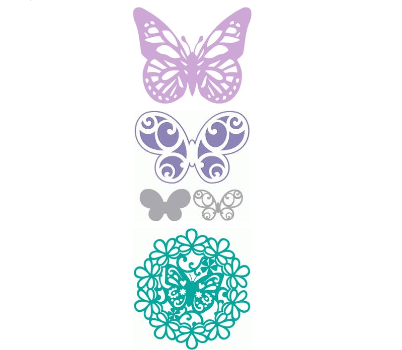 vitinanki-babochki Шаблоны цветов для вырезания из бумаги разных размеров. Бабочки из бумаги своими руками и трафареты для вырезания