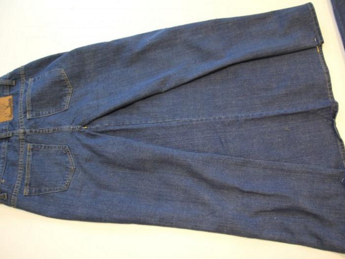 42ff15c3bd08fc683863d704d7dccf75 Сарафан из старых джинсов своими руками: выкройки, как сшить детский сарафан