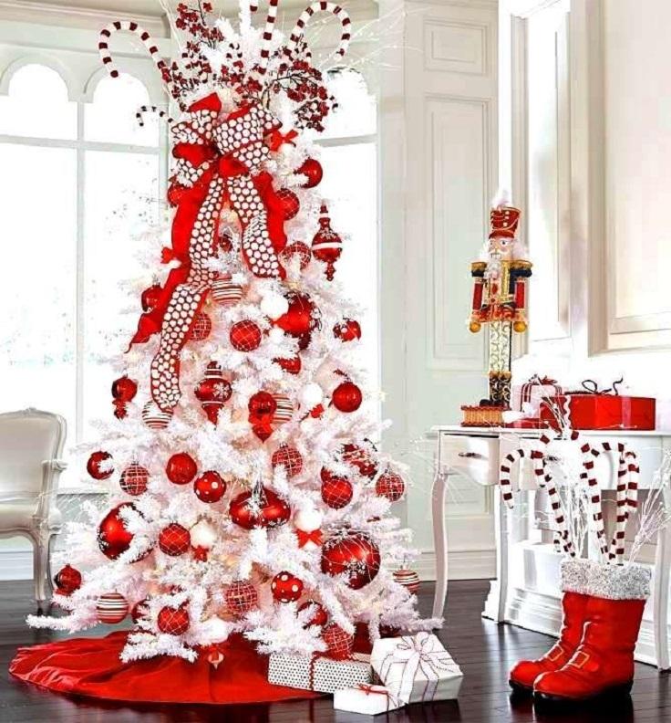 елка только в красном декоре фото сахалине проснулись раньше