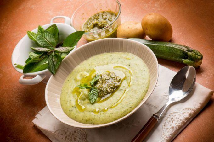 Суп из кабачков для малышей