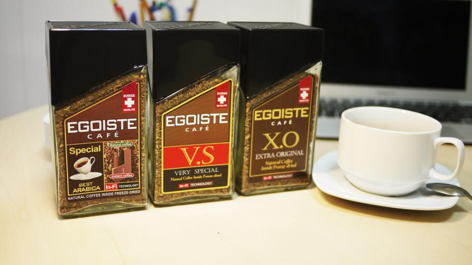 Рейтинг растворимого кофе: №1 egoiste