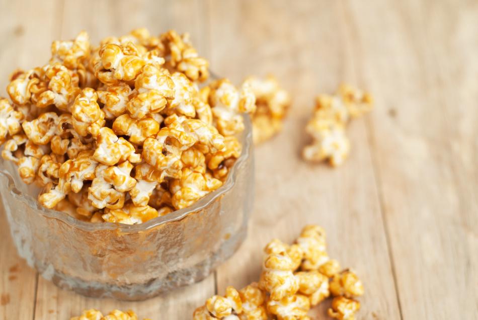 Карамельный попкорн в домашних условиях