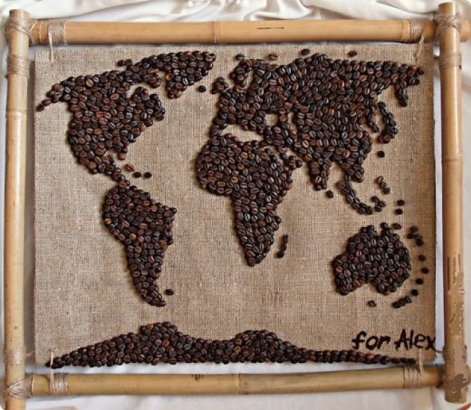 46b78c13dfda9c4bc447a7c716dd543f Поделки из кофейных зерен