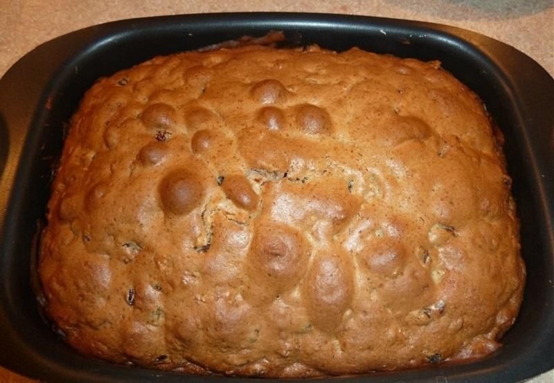 Готовый пирог будет выглядеть так