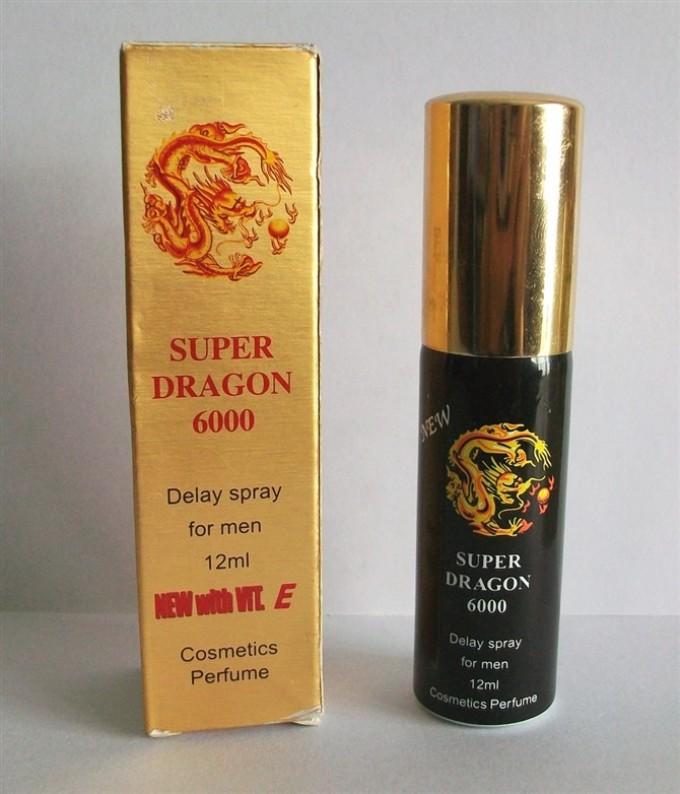 Спрей-пролонгатор super dragon 6000.