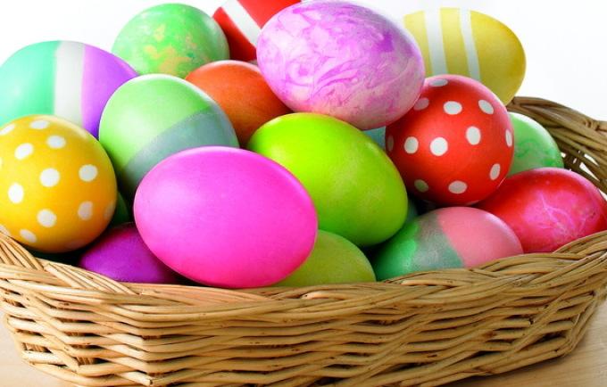 Молитва на 9 пасхальных яиц