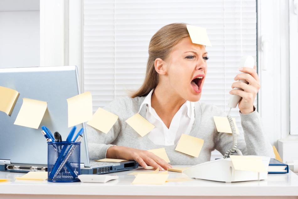 Постоянные стрессовые ситуации становлятся причинаой пониженного давления