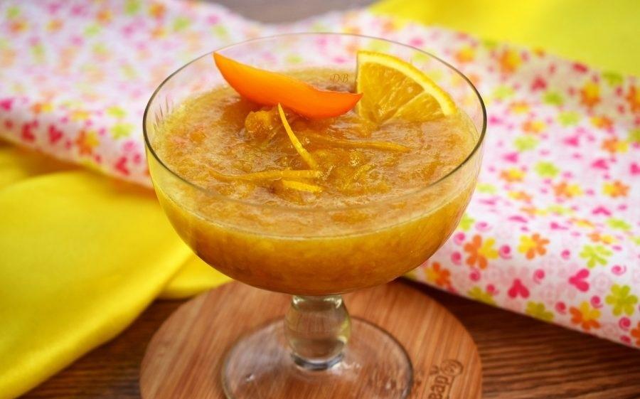 Варенье: хурма с лимоном