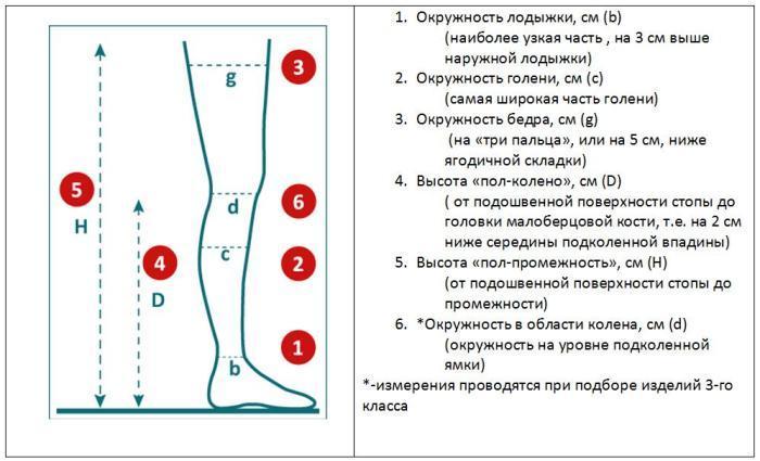 Какие нужно провести замеры для покупки компрессионного белья