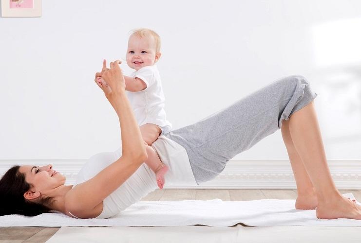 Идеальное решение - это заниматься вместе с малышом
