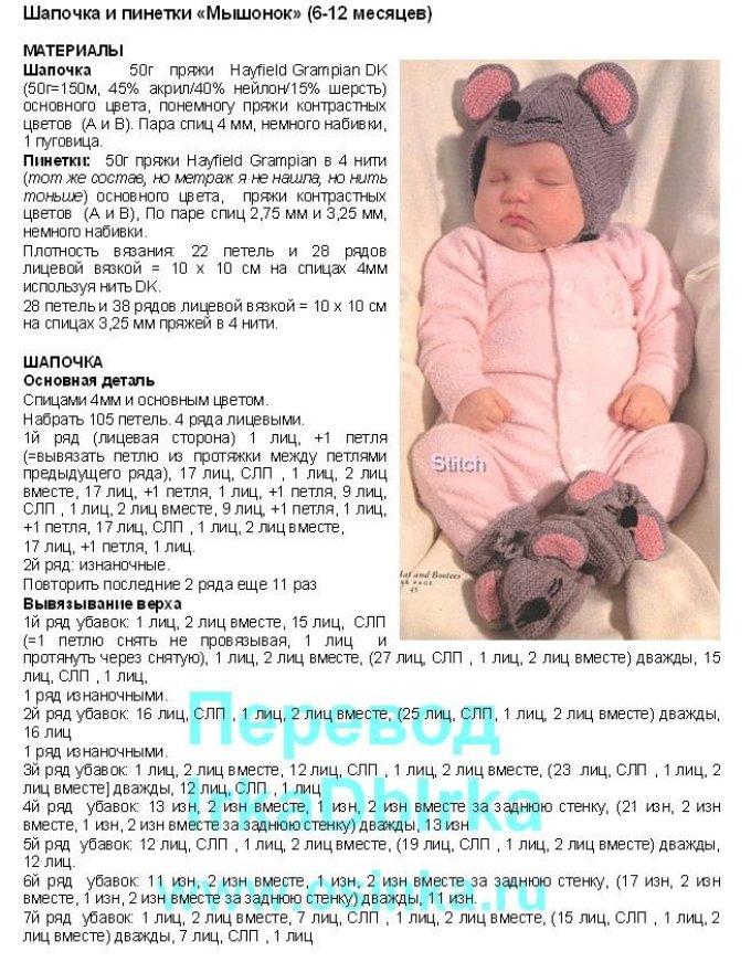 4b472d9cdb9e729a7424e71239c5fab5 Чепчик спицами для новорожденного: схемы, описание и мастер-класс